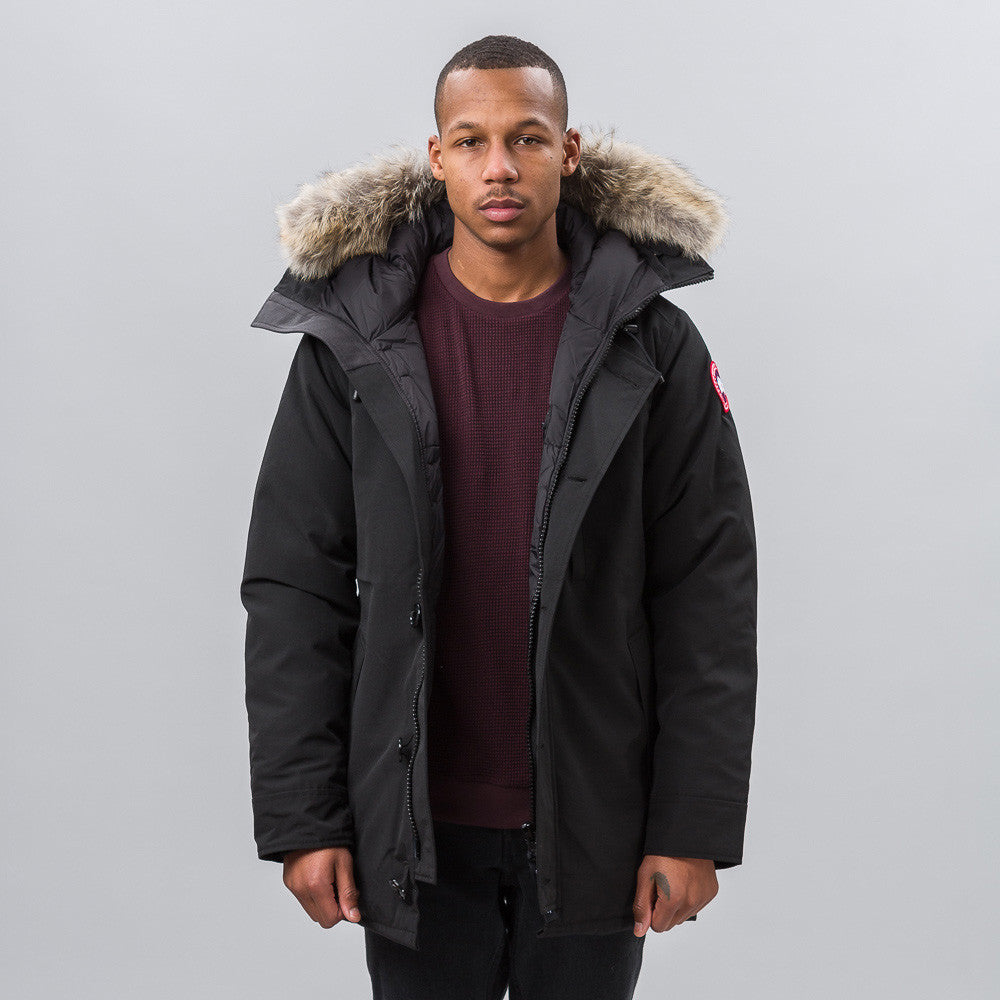 Canada Goose Chateau Parka in Black Notre