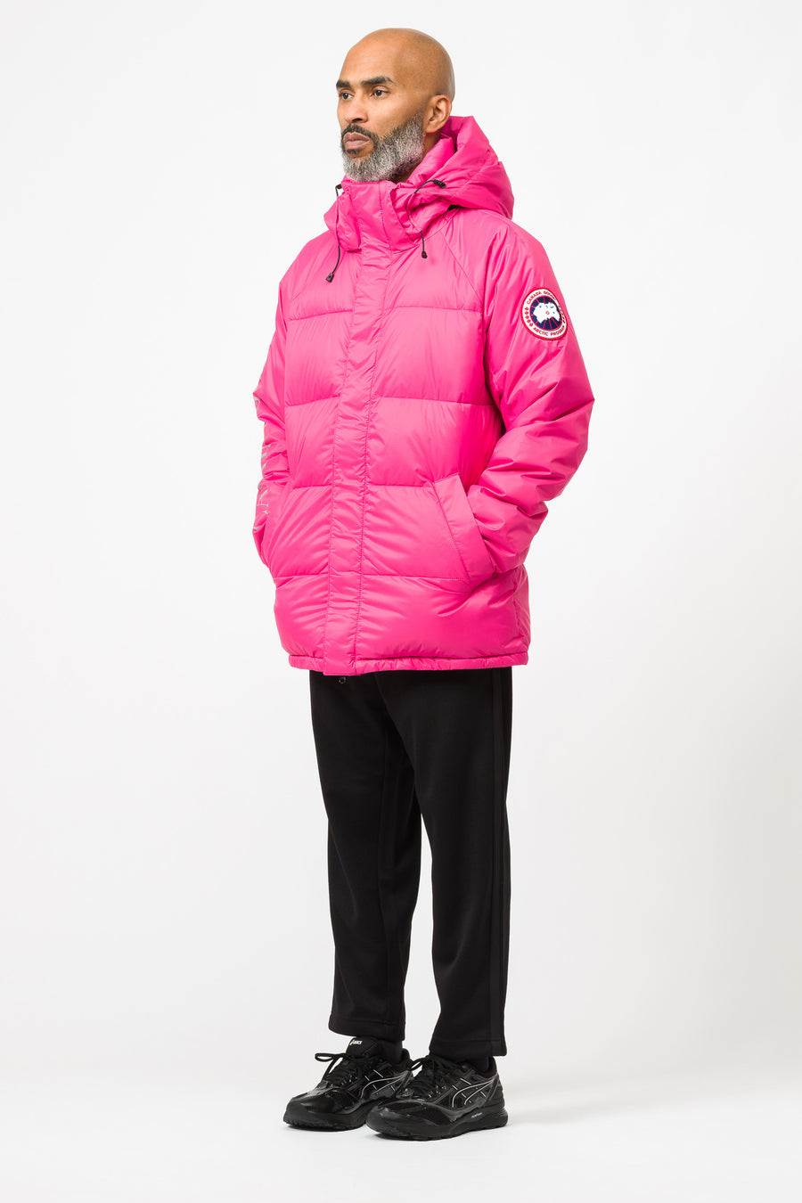 Canada Goose Approach Jacket in Summit Pink - Notre