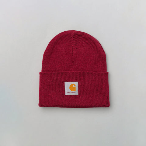 Carhartt WIP Acrylic Watch Hat in Berry - Notre