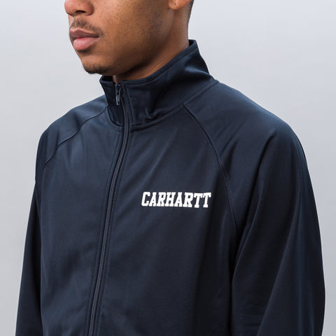 Carhartt WIP College Track Jacket in Navy/White - Notre