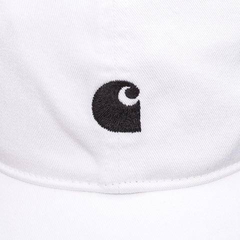 Carhartt WIP Major Cap in White/Black - Notre