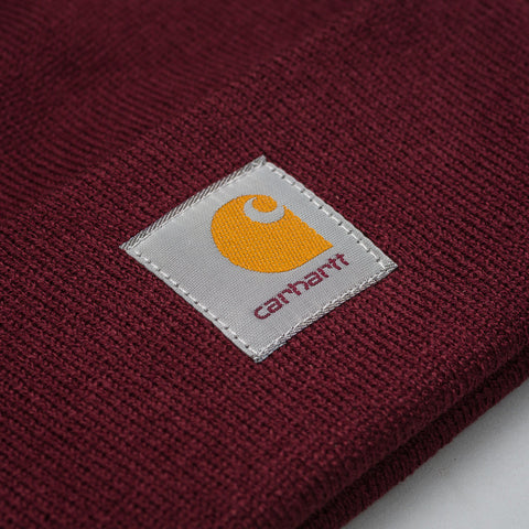 Carhartt WIP - Short Watch Hat in Chianti - Notre - 1