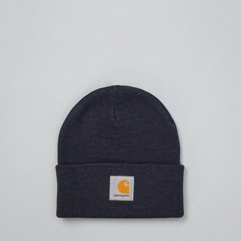 Carhartt WIP - Short Watch Hat in Navy - Notre - 1