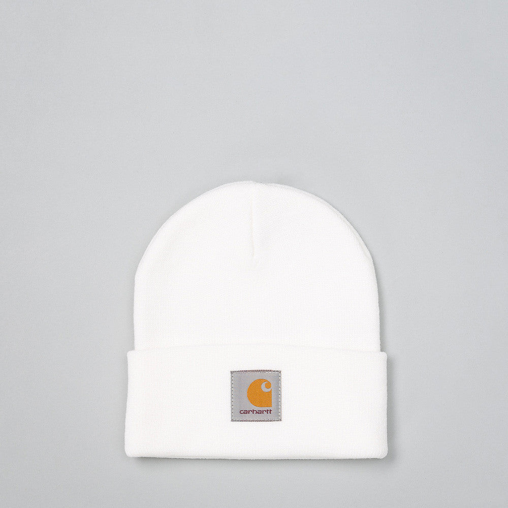 Carhartt WIP - Short Watch Hat in White - Notre - 1