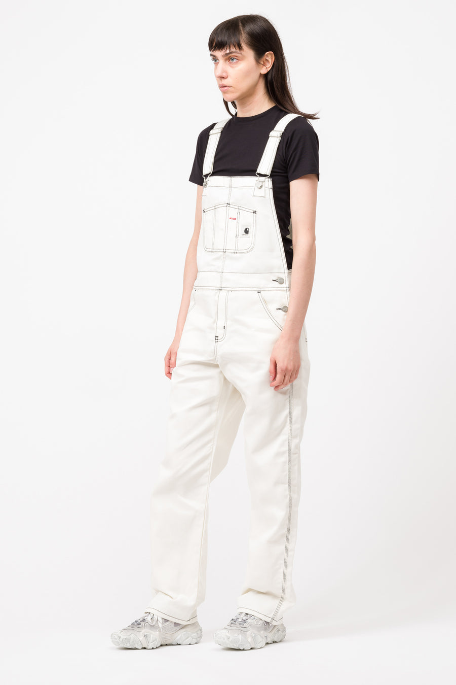 Carhartt WIP Bib Overall Straight Griffith Twill in Wax - Notre