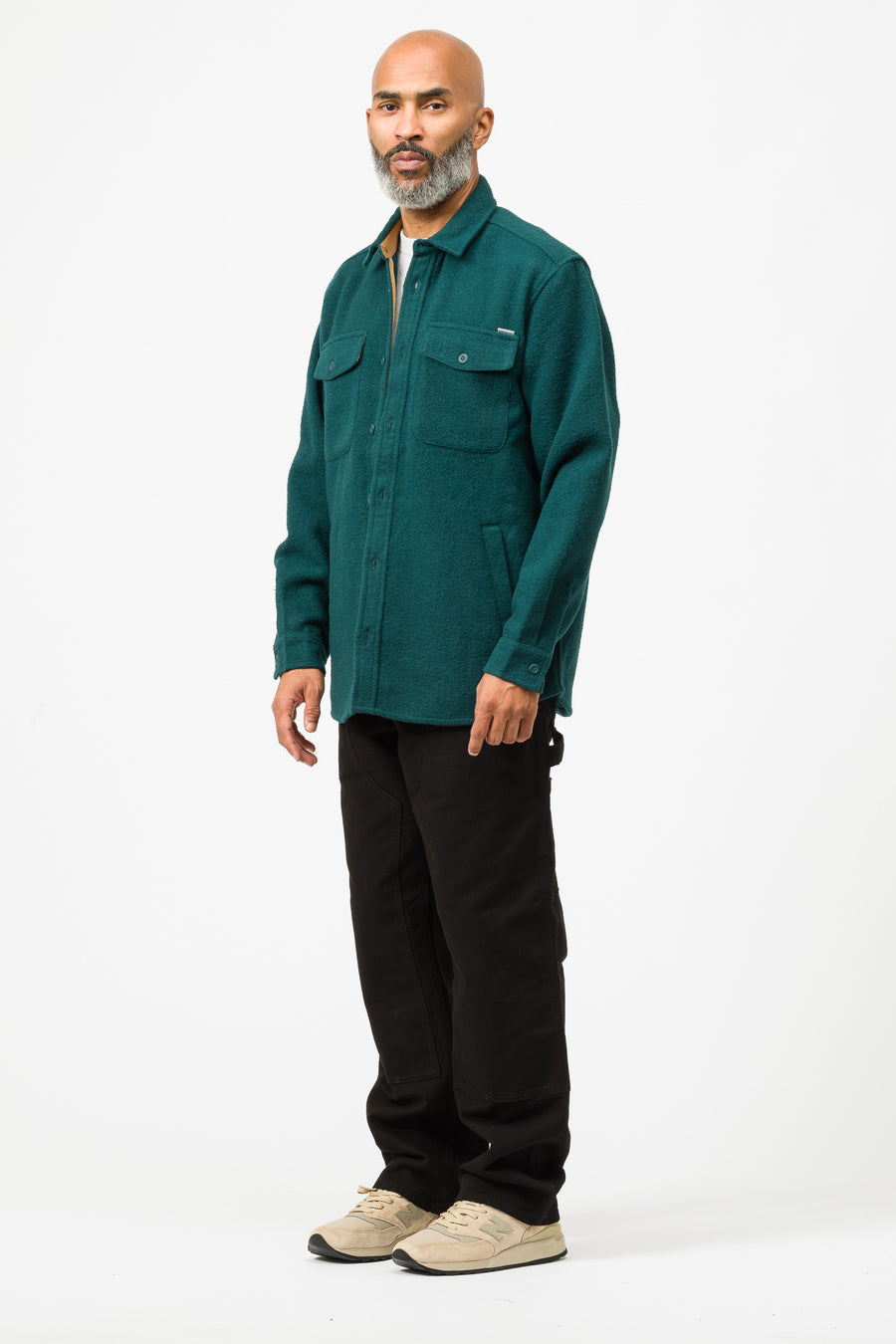 Carhartt WIP Milner Shirt Jacket in Dark Fir - Notre