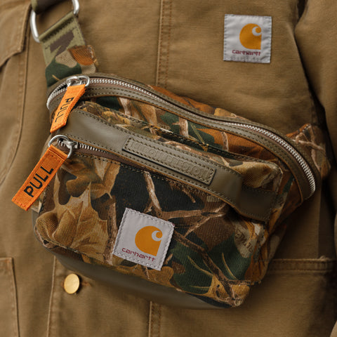 Heron Preston x Carhartt Hip Bag in Multicolor Orange - Notre