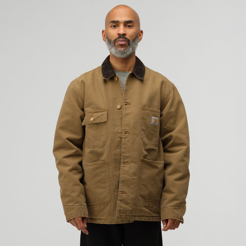 Carhartt WIP OG Chore Coat in Hamilton Brown - Notre
