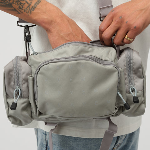 Cav Empt Array Shoulder Bag 2 in Grey - Notre