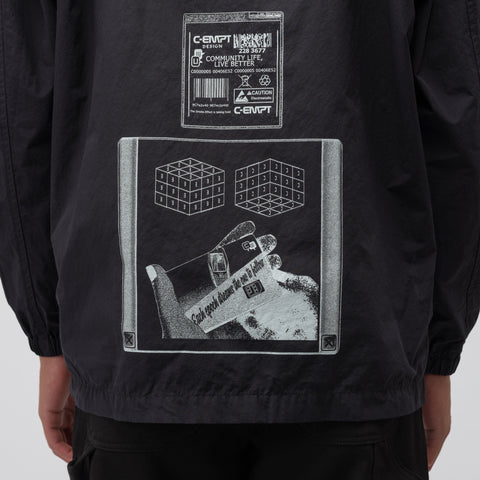 Cav Empt C-EMPT Zip Jacket in Black - Notre
