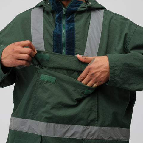 Cav Empt Carrier Pullover Jacket in Green - Notre