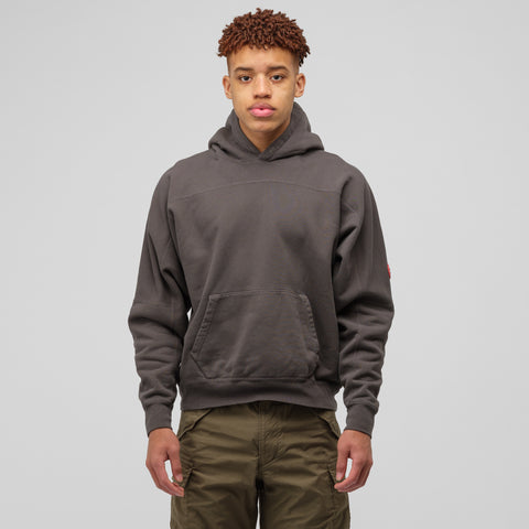 Cav Empt Center P Rib Heavy Hoodie in Grey - Notre