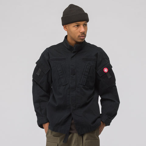 Cav Empt Cotton Zip BDU Jacket #2 in Black - Notre