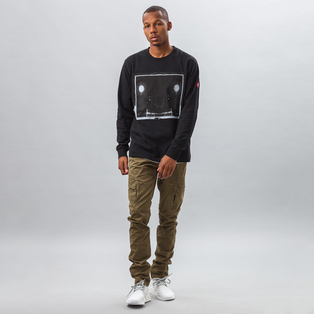Cav Empt Dark City Long Sleeve T Model Shot
