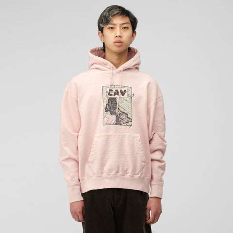 Cav Empt Empt Panel Heavy Hoody in Pink - Notre