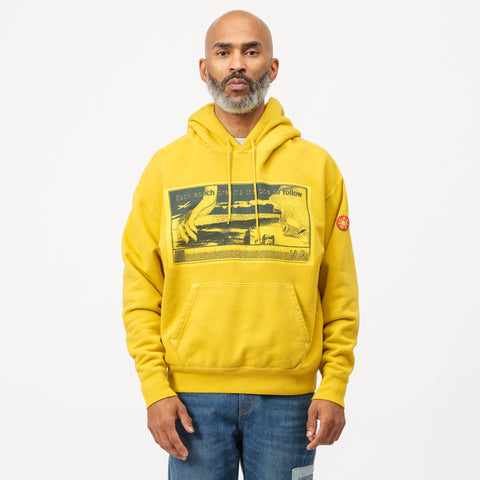 Cav Empt Each Epoch Heavy Hoodie in Yellow - Notre