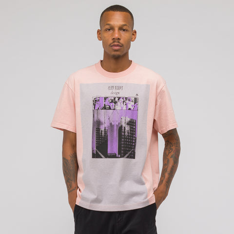 Cav Empt Grey Long Box T-Shirt in Pink - Notre