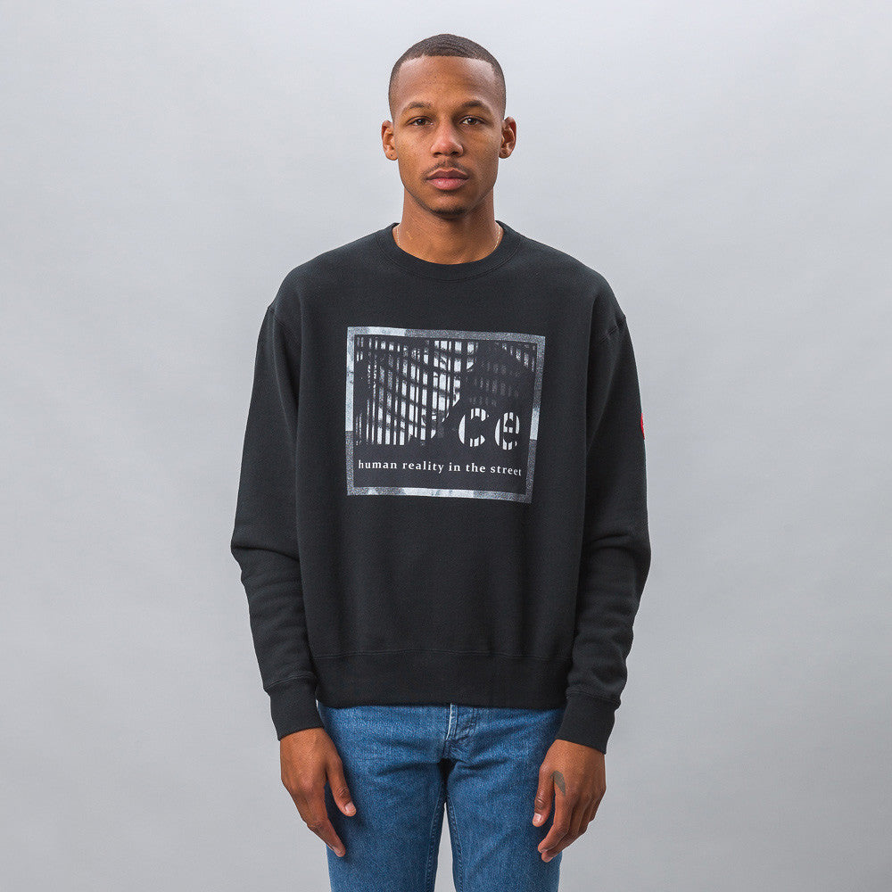 Cav Empt Human Reality Crew Neck Model Shot