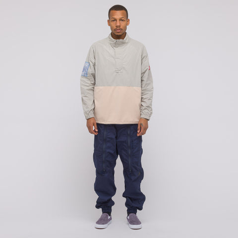 Cav Empt Desire Half Zip Jacket in Grey - Notre