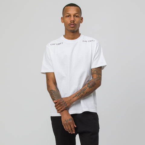 Cav Empt MD Metaphor T-Shirt in White - Notre
