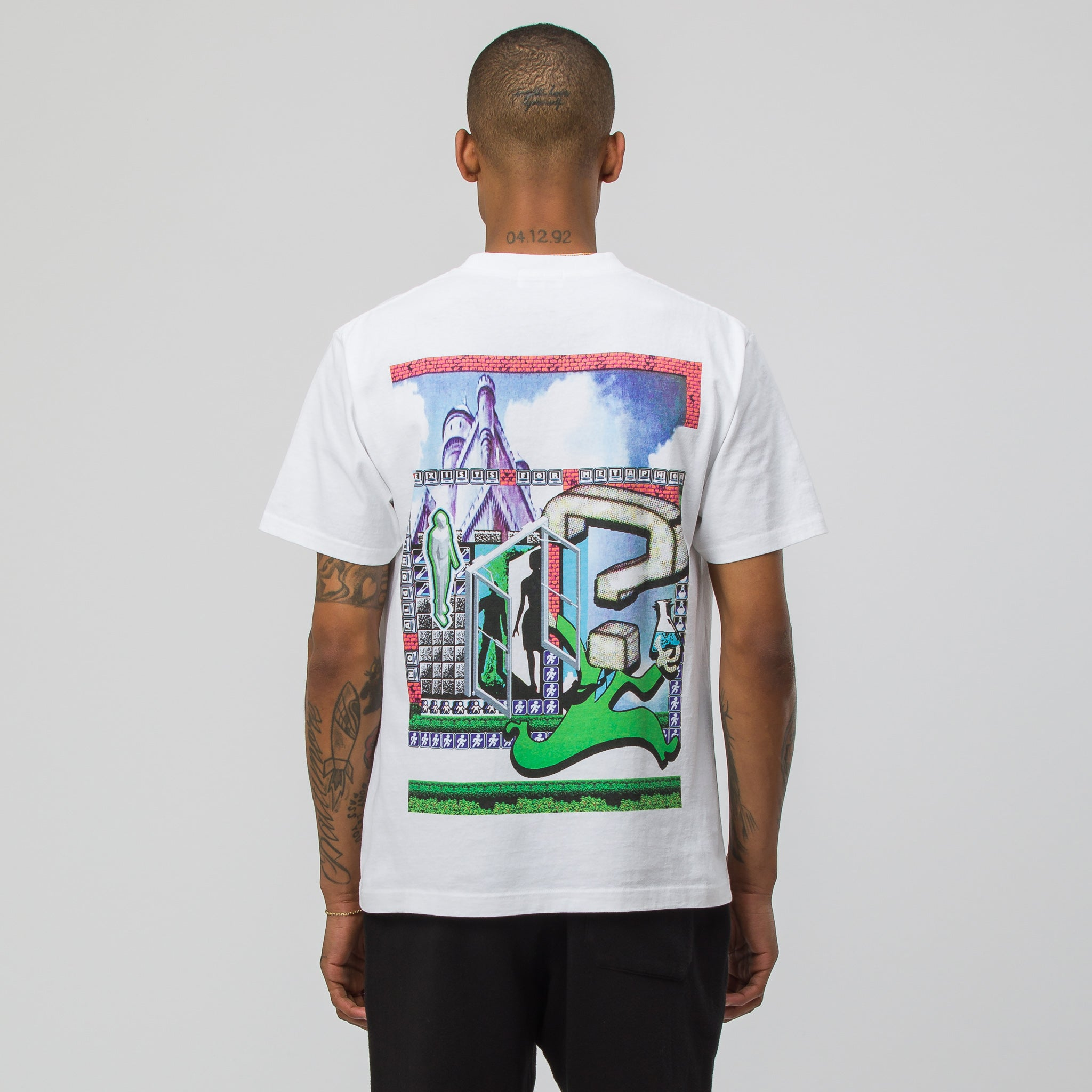 MD Metaphor T-Shirt in White