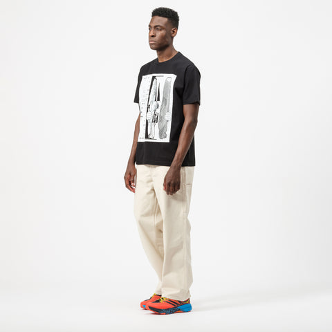 Cav Empt MD TetAtet T-Shirt in Black - Notre
