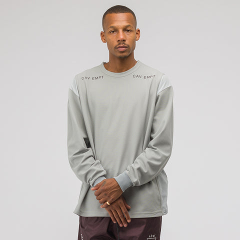 Cav Empt Mesh Long Sleeve T-Shirt in Grey - Notre