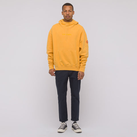 Cav Empt Overdye Heavy Hoody in Orange - Notre