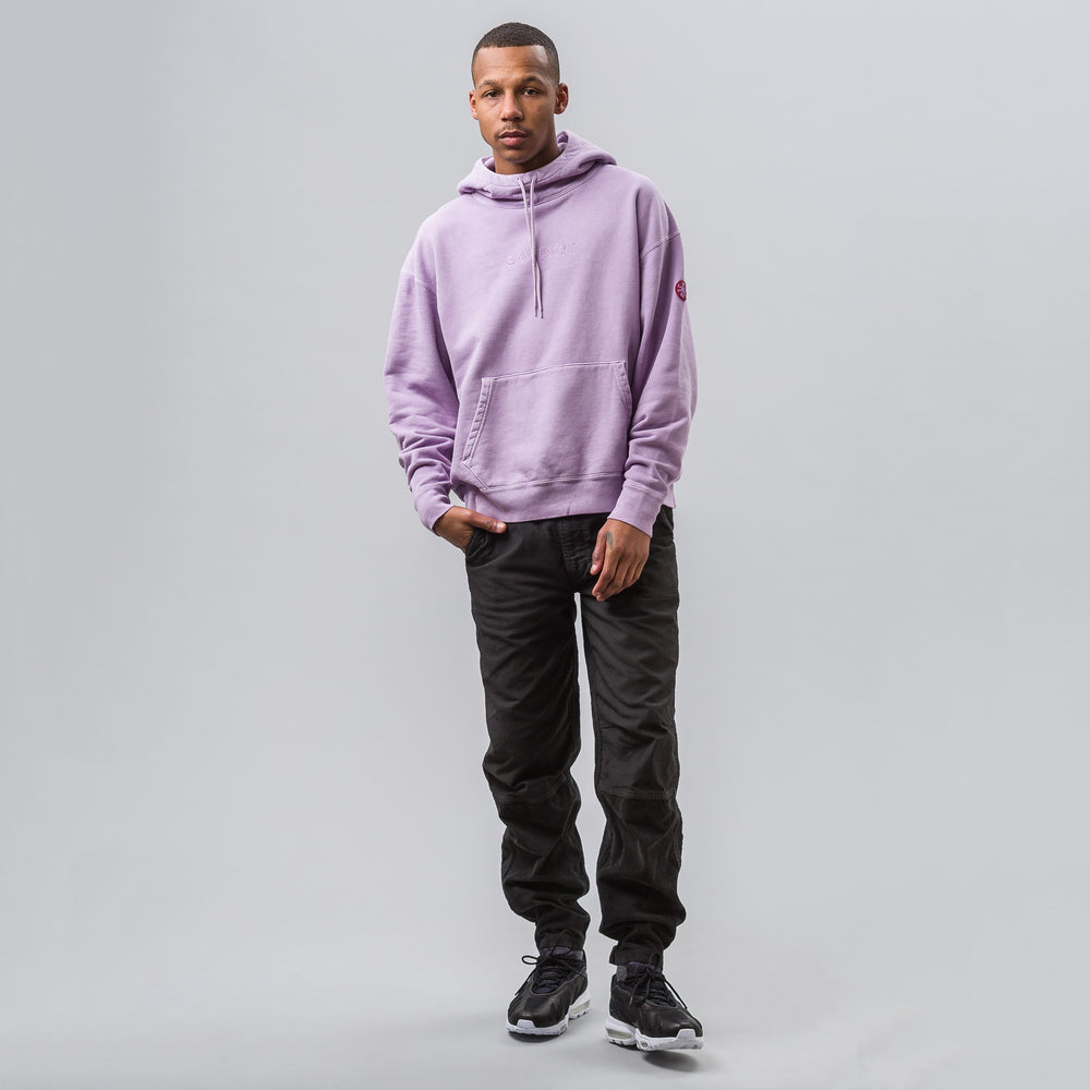 Cav Empt Overdye Heavy Hoody in Purple - Notre