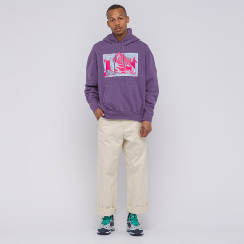 Cav Empt Own/Control Heavy Hoody in Purple - Notre