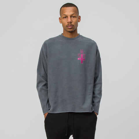 Cav Empt PME Cav Long Sleeve T in Grey - Notre