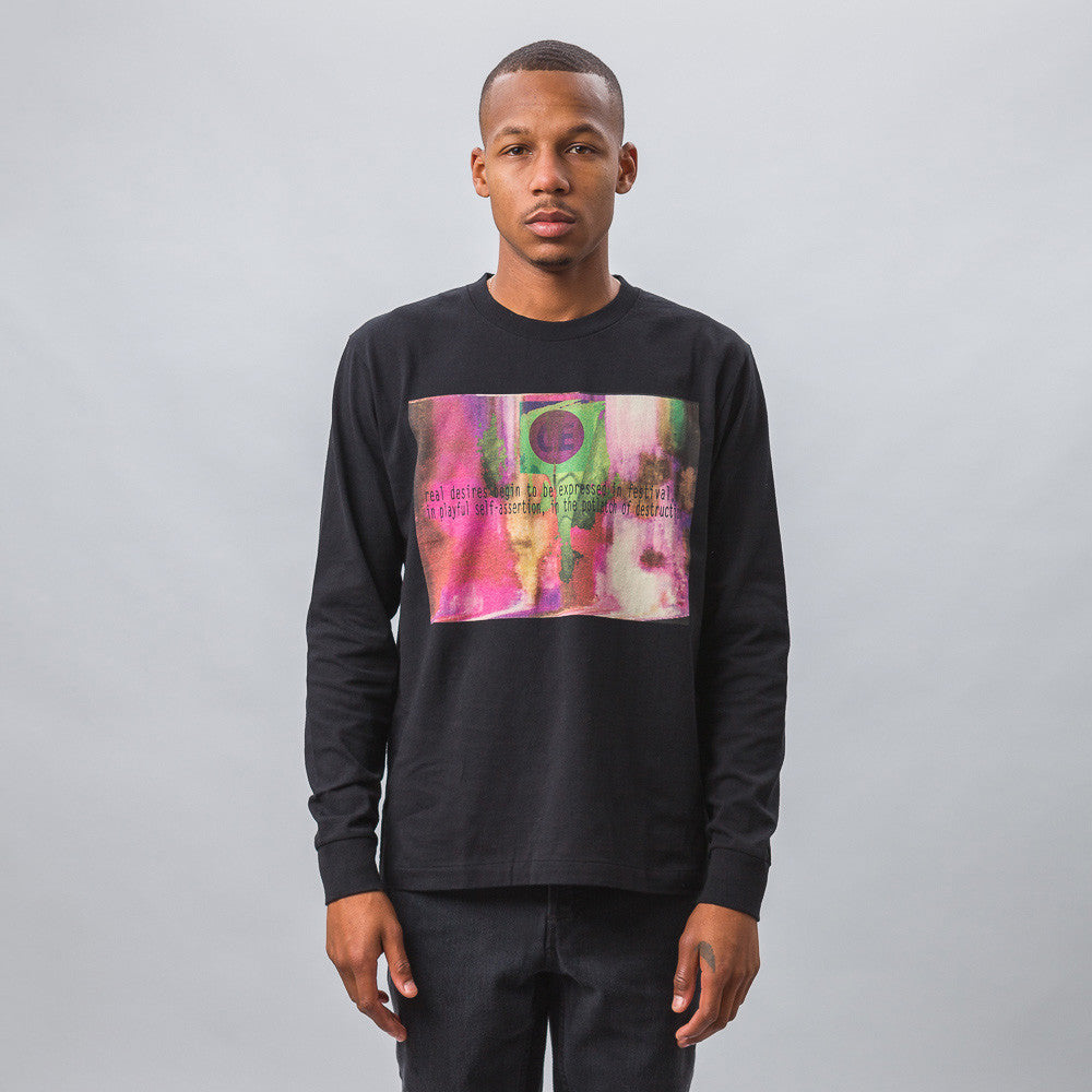 Cav Empt Real Desires Long Sleeve T-Shirt Model Shot