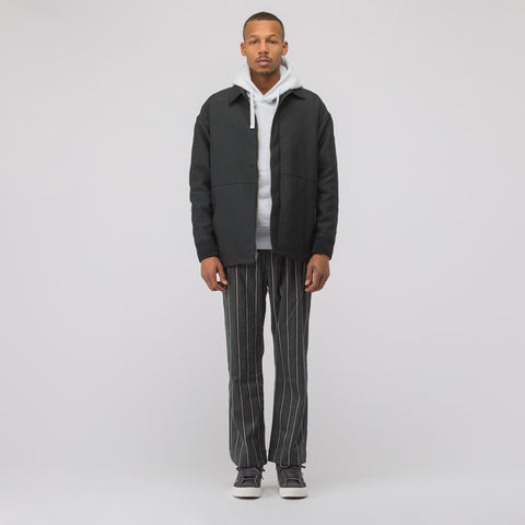 Cav Empt Zip Collared Jacket #4 in Black - Notre