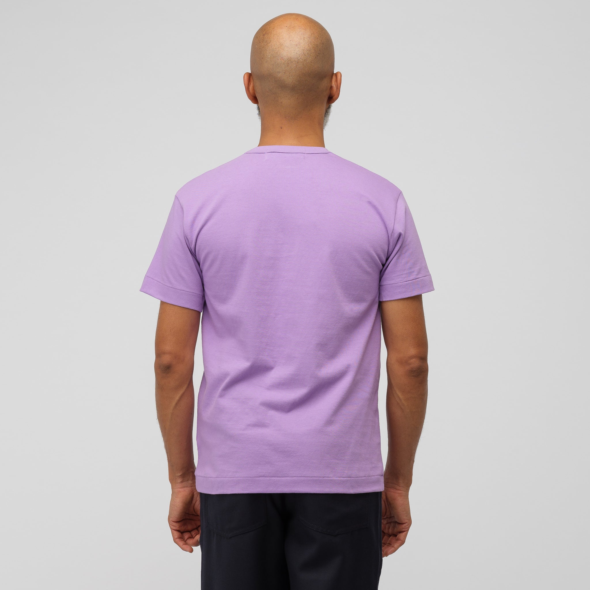 Little Heart Logo T-Shirt in Purple