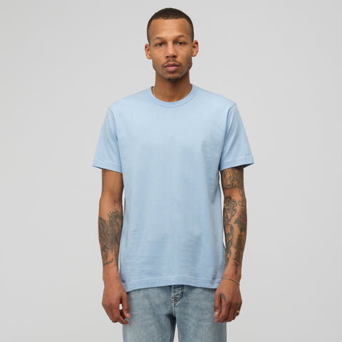 Comme des Garcons Shirt Turkish Tee in Light Blue - Notre