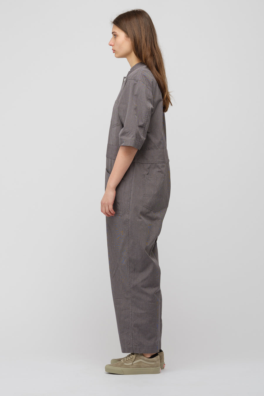 Chimala Heavy Twisted Classic Codelane All-In-One in Grey Stripe - Notre
