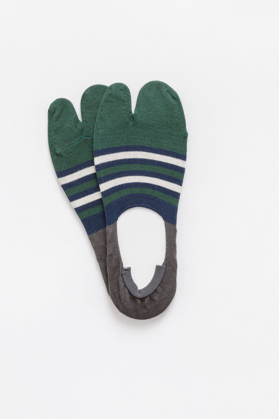 Chup 3 Point Grip Socks in Green/Blue - Notre