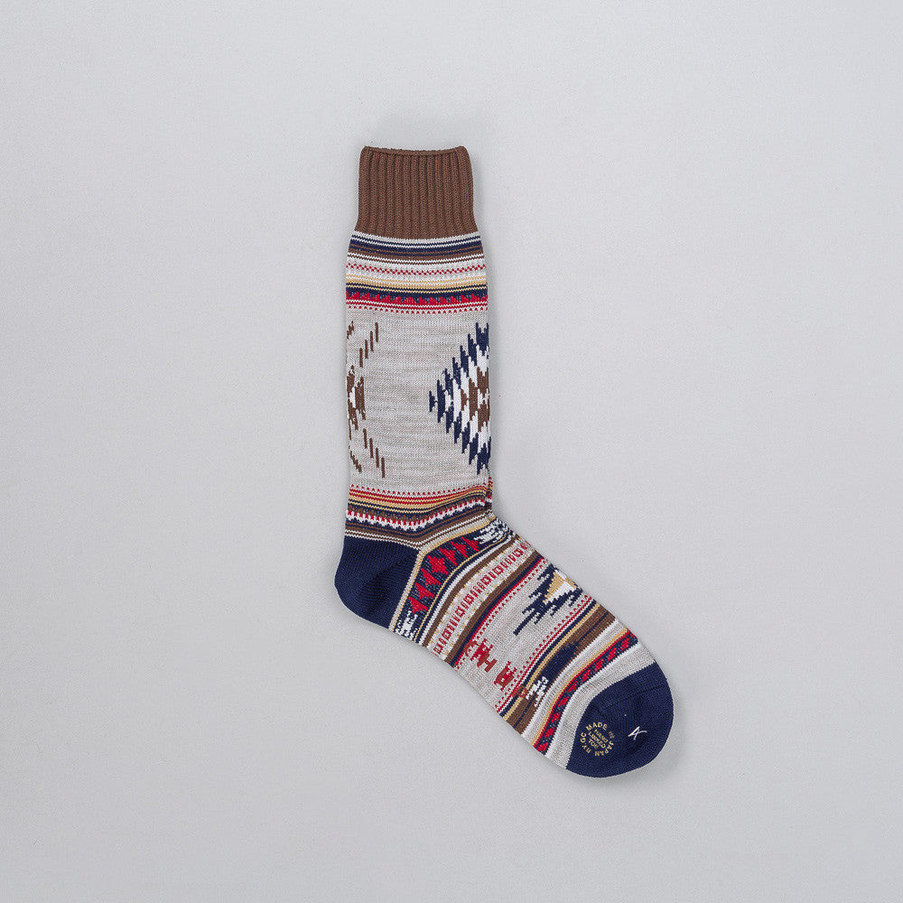 CHUP Churro Sock in Charcoal Notre 1