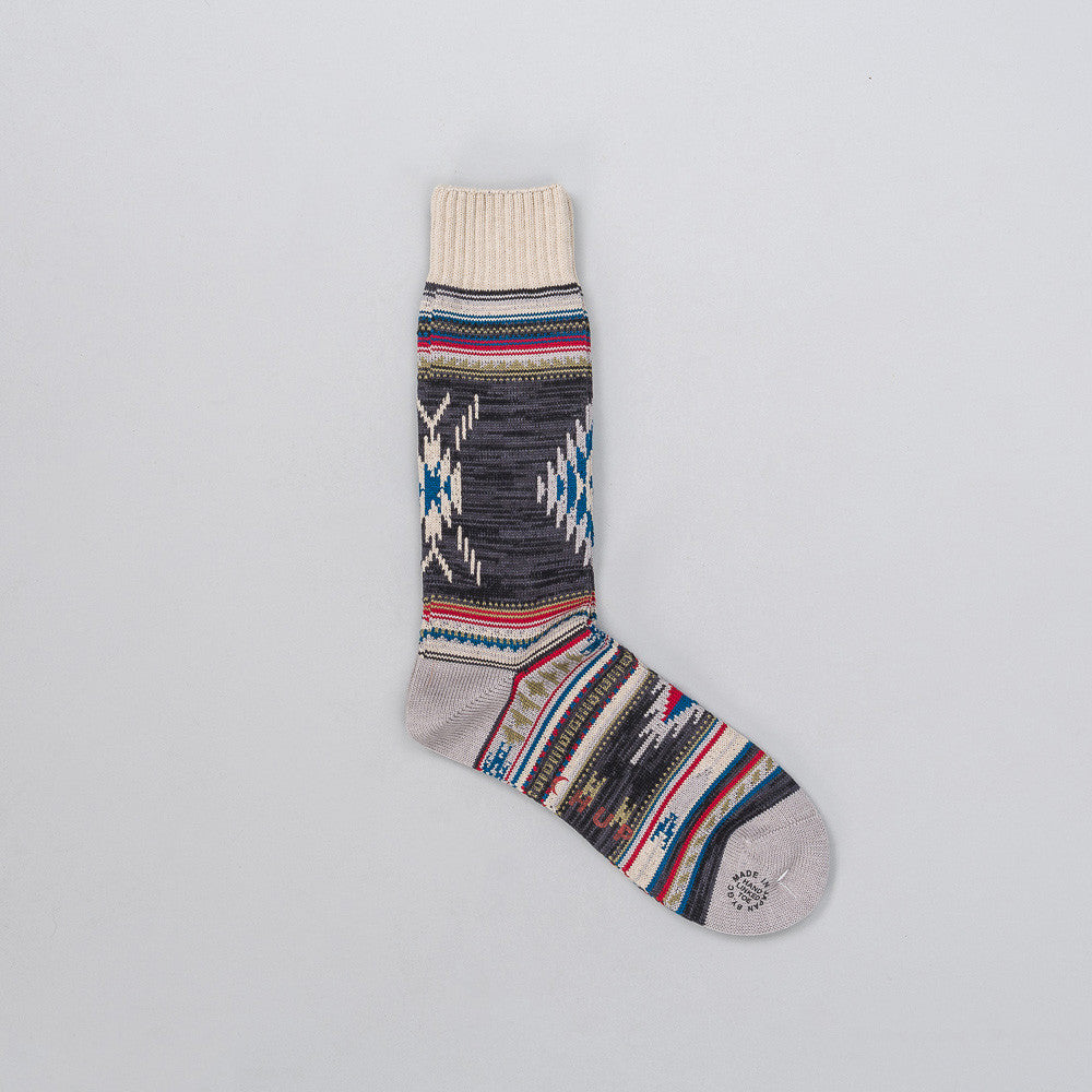 Chup Churro Sock in Grey Notre 1