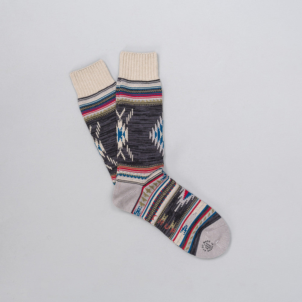 Churro Sock in Grey