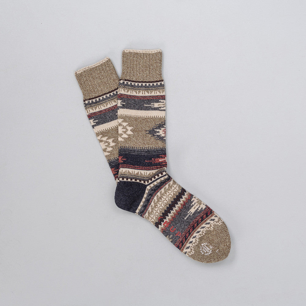 Prairie Sock in Khaki