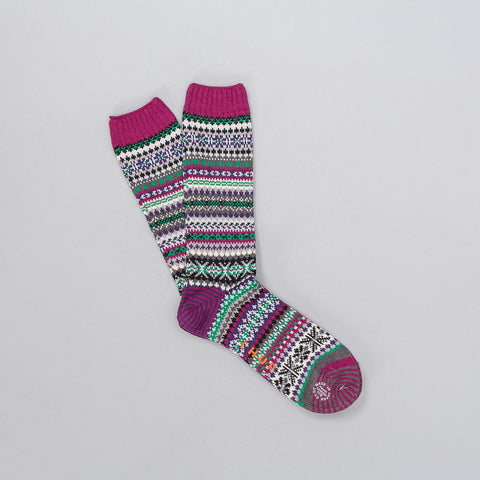 Chup Varme Sock in Purple - Notre