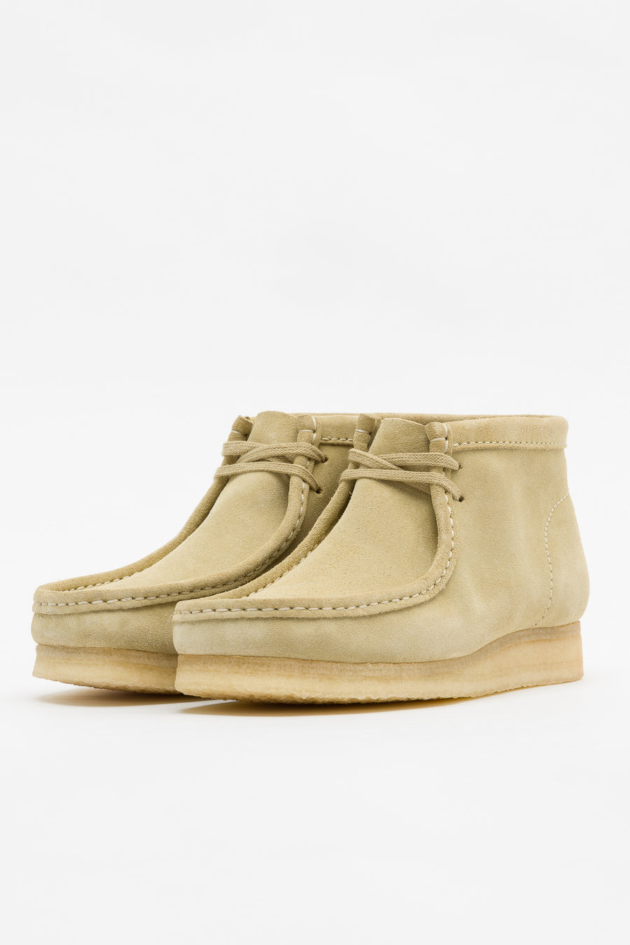 Clarks Wallabee Boot in Maple Suede - Notre