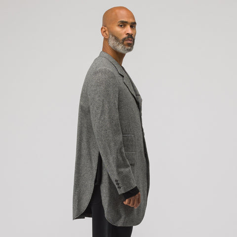 Comme des Garçons Homme Plus Single Breasted Jacket in Grey - Notre