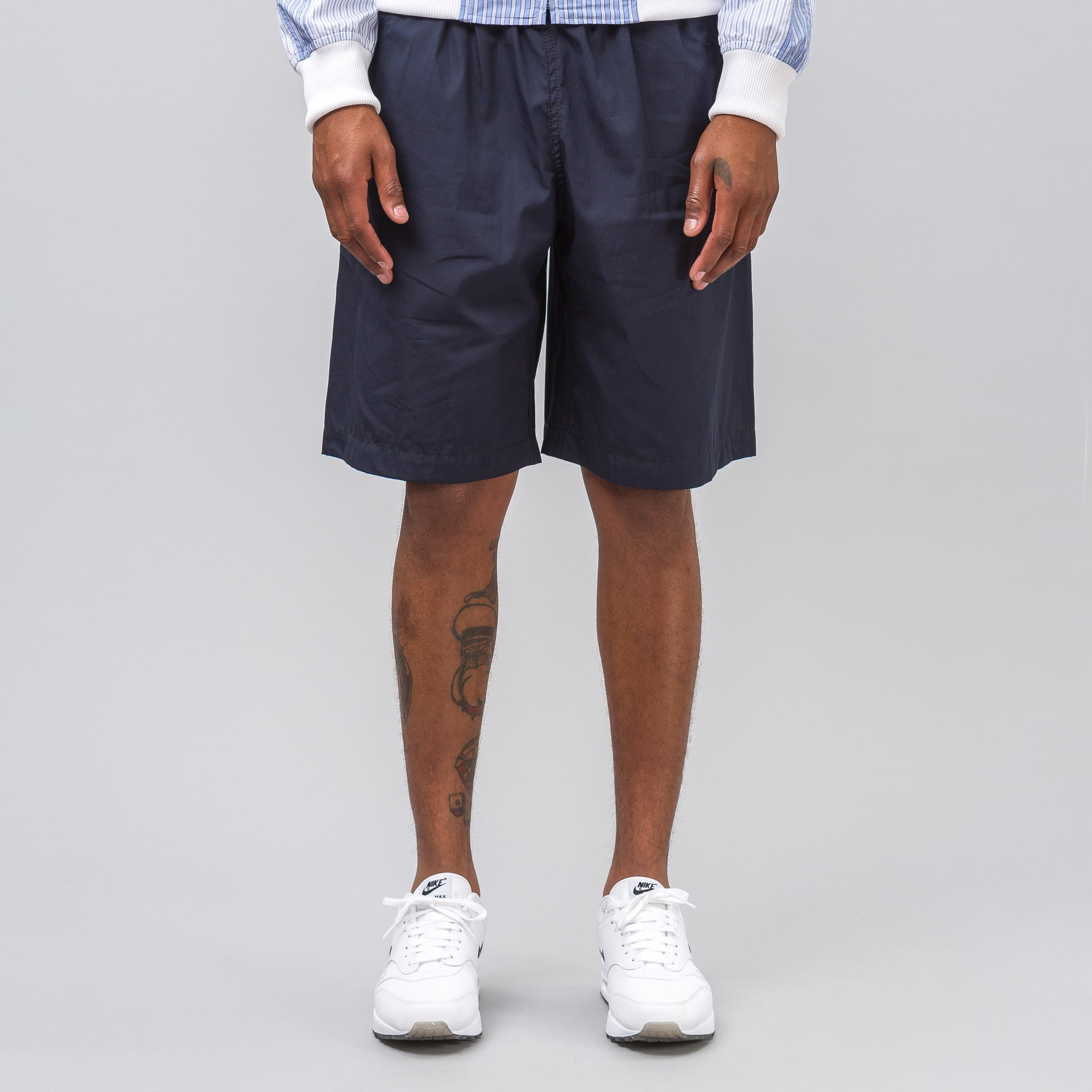 Elastic Waist Short in Navy