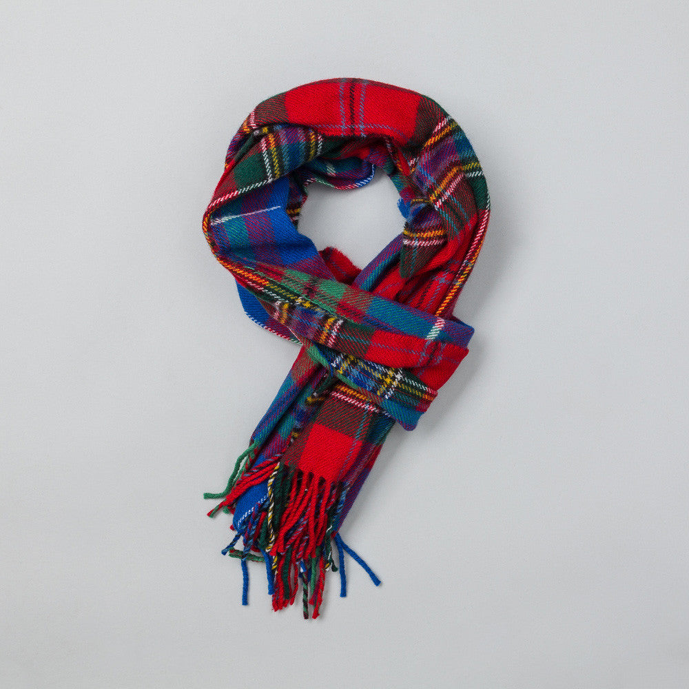 Commes des Garcons Shirt Scarf in Light Plaid