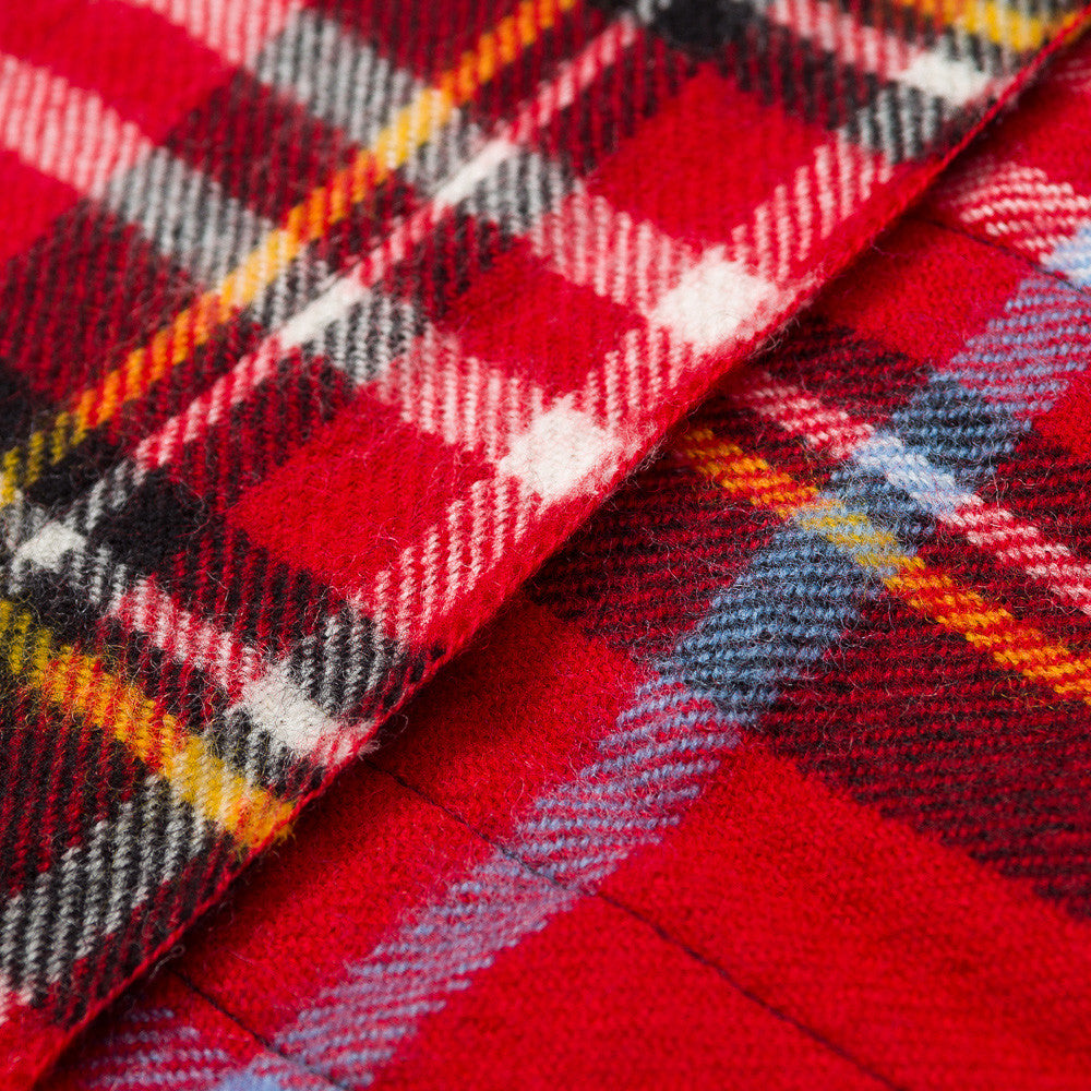 Commes des Garcons Shirt Scarf in Red Plaid
