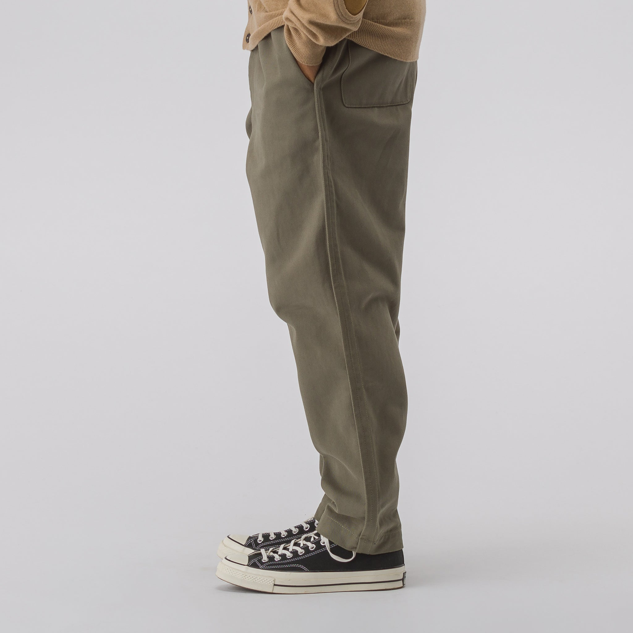 Woven Pants in Olive