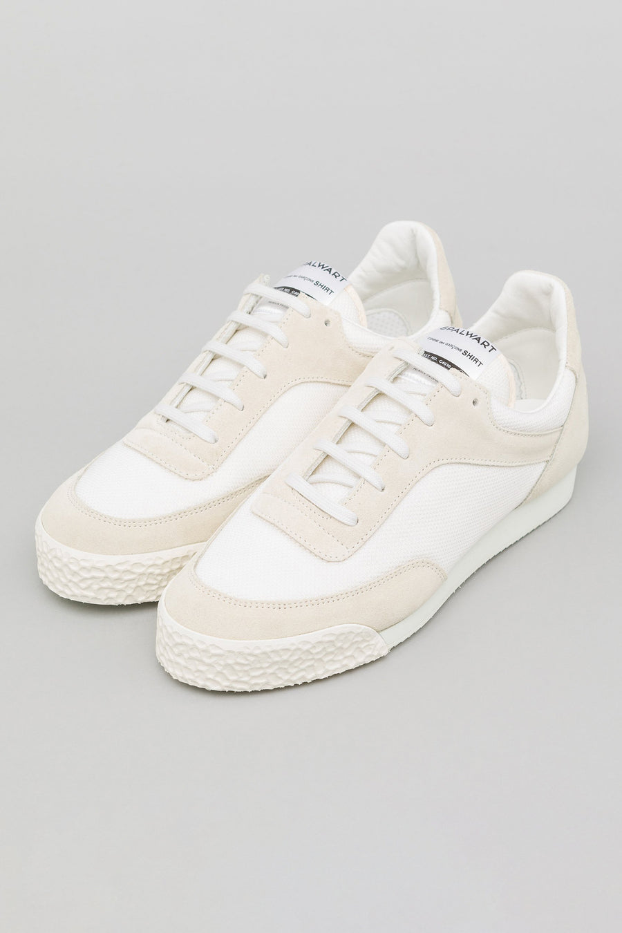 Comme des Garcons Shirt x Spalwart Pitch Low in White - Notre