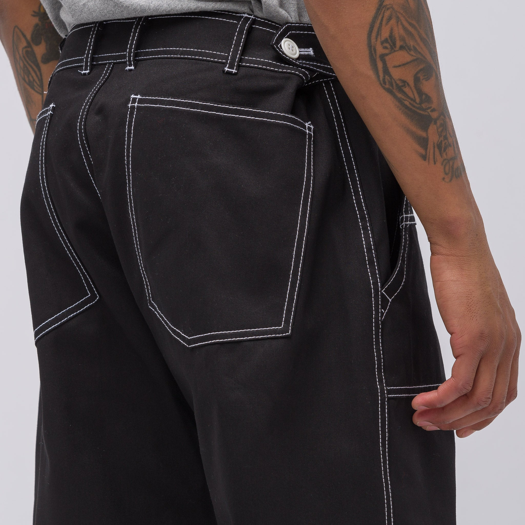 Woven Pants in Black